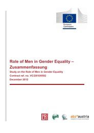 Role of Men in Gender Equality