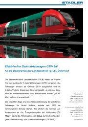 Elektrotriebwagen - Politik - Land Steiermark