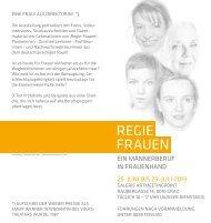 Regie fRauen - Politik - Land Steiermark