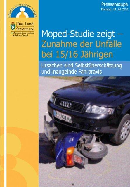 Mopedunfälle (Stmk 2007) - Politik - Land Steiermark
