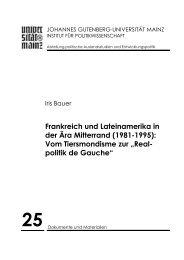 Download - Institut für Politikwissenschaft - Johannes Gutenberg ...