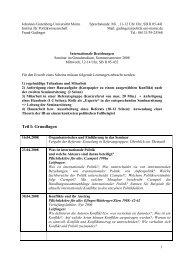Teil I: Grundlagen - Institut für Politikwissenschaft - Johannes ...