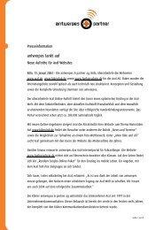 Gesprächsprotokoll vom 14 - DocCheck AG