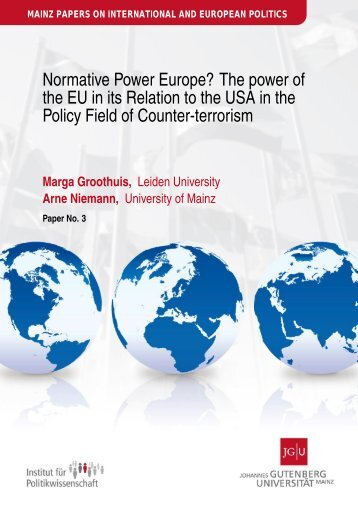 EU Normative Power in its Relations to the USA in - Institut für ...