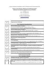 Teil 1 Empirische Sozialforschung Teil 2: Deskriptive Statistik