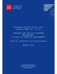 Portugal and the EU's Eastern Enlargement