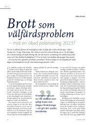 välfärdsproblem - Politiken.se