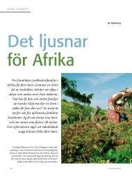 Om framtidens jordbrukarfamiljer i Afrika får färre barn ... - Politiken.se