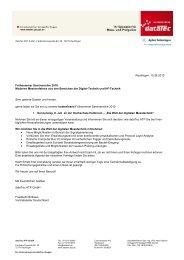 Einladung Seminar Heilbronn - datatec Gmbh