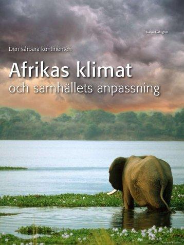 Afrikas klimat - Politiken.se