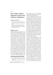 Efter floden: Klimat- migration och den rika världens ... - Politiken.se