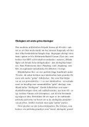 Ekologism och andra gröna ideologier - Politiken.se