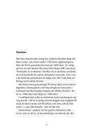 Feminism Det finns feministiska inslag hos radikala ... - Politiken.se