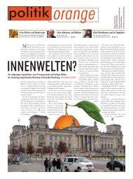 Herr Adenauer und Medien - Politikorange.de