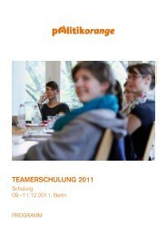 Teamerschulung 2011 - Jugendpresse.de