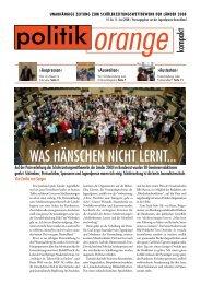 erntezeit - Politikorange.de