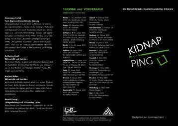 KIDNAP PING - Landeszentrale für politische Bildung Rheinland-Pfalz