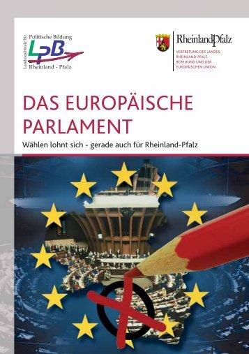 das europäische parlament - Landeszentrale für politische Bildung ...