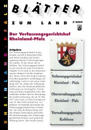 Der Verfassungsgerichtshof Rheinland-Pfalz - Landeszentrale für ...