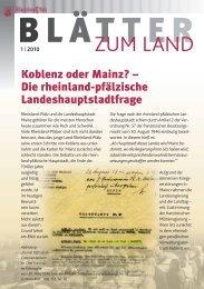 Koblenz oder Mainz? - Landeszentrale für politische Bildung ...