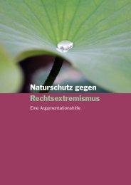 Naturschutz gegen Rechtsextremismus - Umdenken ...