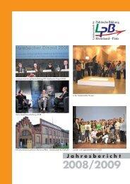 2008/2009, (pdf 12.121 KB) - Landeszentrale für politische Bildung ...