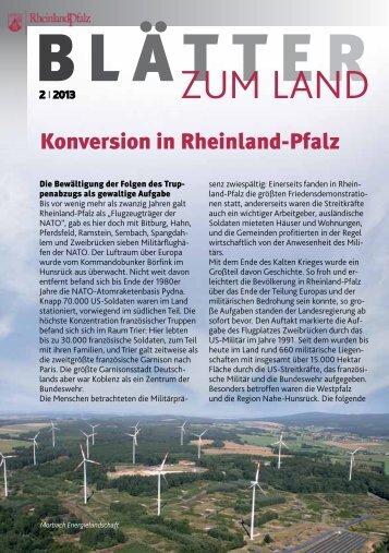 Konversion in Rheinland-Pfalz - Landeszentrale für politische Bildung