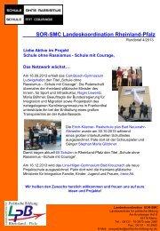 Rundbrief 4/2013 - Landeszentrale für politische Bildung