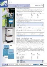 Jencons laboratory catalogue Ice buckets coolers dry ice ... - vwr.com