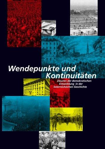 Wendepunkte und Kontinuitäten - Forum Politische Bildung