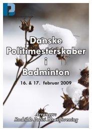 DM 2009 - Roskilde Deltagerliste