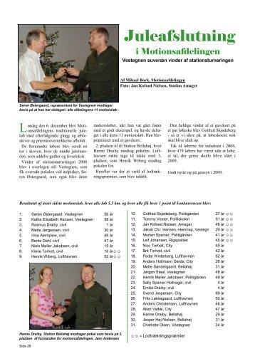 Side 26-27 Juleafslutning i motionsafdelingen