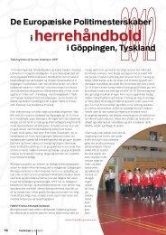Side 16 - Dansk Politiidrætsforbund