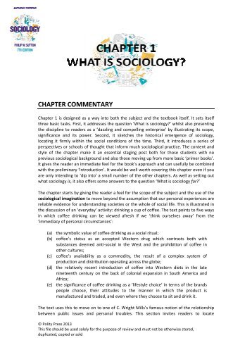 Chapter 1 - Polity