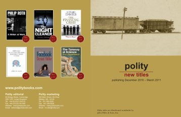 Polity New Books :Layout 1