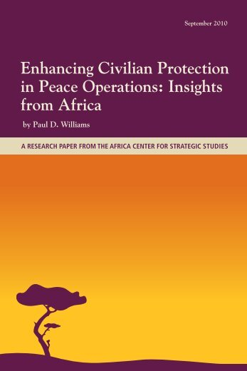 Enhancing Civilian Protection in Peace Operations: Insights ... - Polity