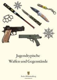 Jugendtypische Waffen und Gegenstände - Polizei Baden ...