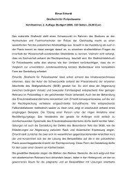 Elmar Erhardt Strafrecht für Polizeibeamte ... - Polizei-Newsletter