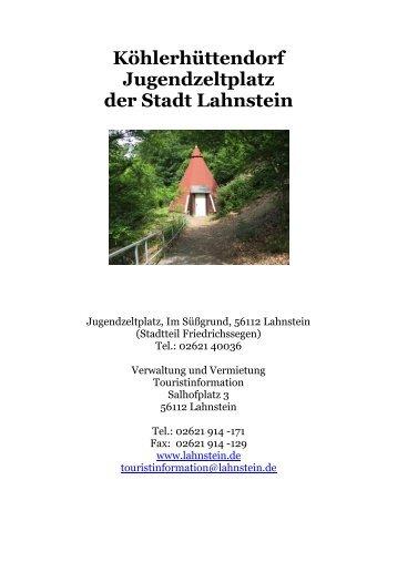 allgemeine Infos als .pdf - Lahnstein