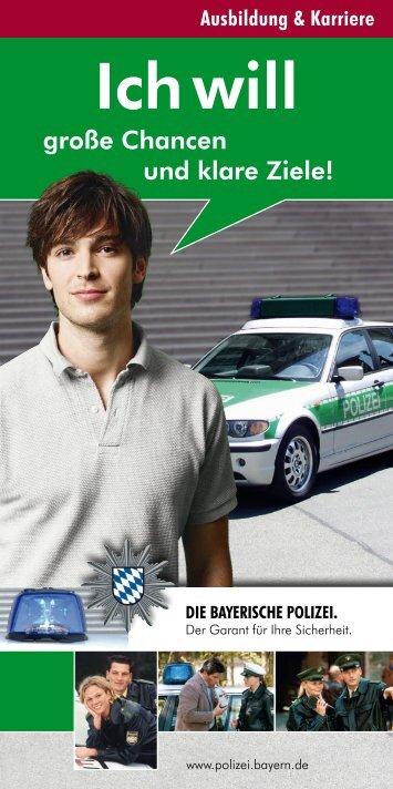 Ausbildung und Karriere - Polizei Bayern