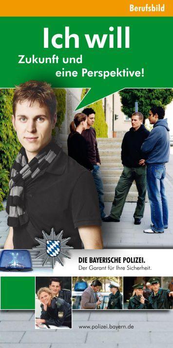 Berufsbilder - Polizei Bayern