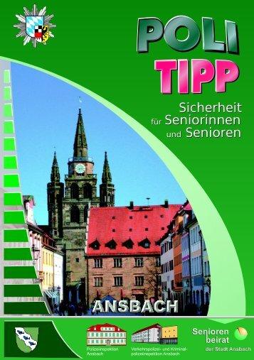 Ausgabe für Ansbach - Polizei Bayern