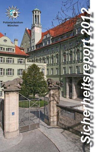 Sicherheitsreport 2012 - Polizei Bayern