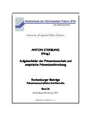 01 Titelei Band 36 Sterbling - Polizei Sachsen