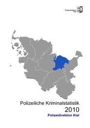 PKS 2010 PD Kiel, 50 Seiten (PDF/885 KB) - Landespolizei ...