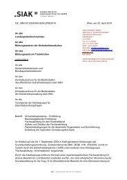 GZ.: BMI-SI1300/0440-SIAK-ZFB/2010 Wien, am 20. April 2010 An ...