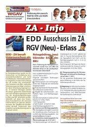 EDD Ausschuss im ZA - FSG