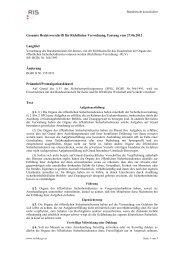 Gesamte Rechtsvorschrift für Richtlinien-Verordnung ... - FSG