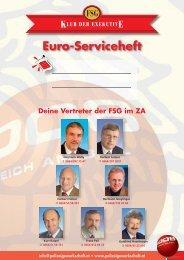 Euro-Serviceheft - FSG