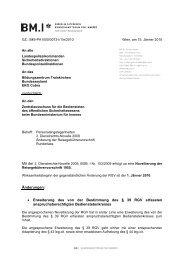 Änderungen: • Erweiterung des von der Bestimmung des § 39 ... - FSG